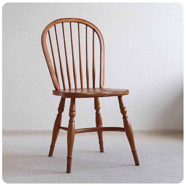 イギリス アンティーク ウィンザーチェア/英国製/家具/ダイニングチェア/店舗什器【ハイクオリティな椅子でおすすめ!】Z-458