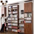 天井つっぱり書棚 スラスト 幅60cm 奥行26cm 扉付き