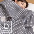 日本製 三河木綿ふんわりやさしいガーゼケット クォーター