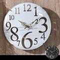 アンティークのようなレトロ調壁掛け時計 アリッサム