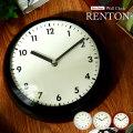掛け時計 レトロデザイン ウォールクロック レントン