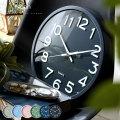 おしゃれなカラー 掛時計 ノア φ30cm