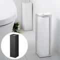 トイレ 収納 トイレットペーパーホルダー タワー