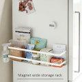 冷蔵庫横マグネットワイド収納ラック プレート