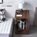 ブロックデザイン サイドテーブル ゴロ