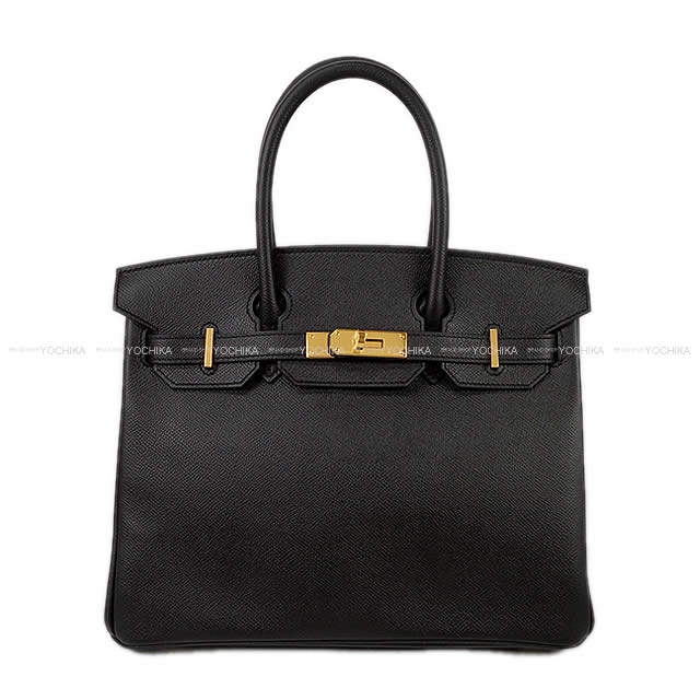 HERMES エルメス ハンドバッグ バーキン30 黒(ブラック) エプソン ゴールド金具 新品