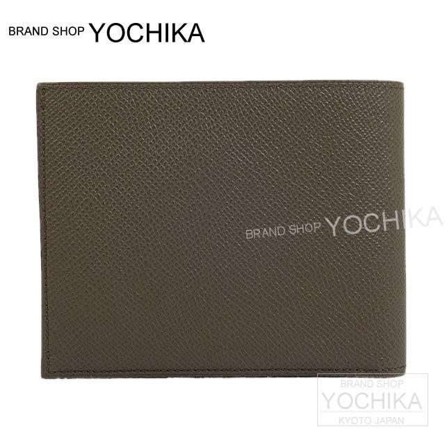 HERMES エルメス メンズ 二つ折財布 MC2 ガリレイ コンボ 黒(ブラック) エプソン 新品未使用