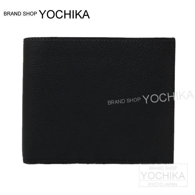 HERMES エルメス メンズ 二つ折財布 MC2 タレス 黒(ブラック) エバーグレイン 新品