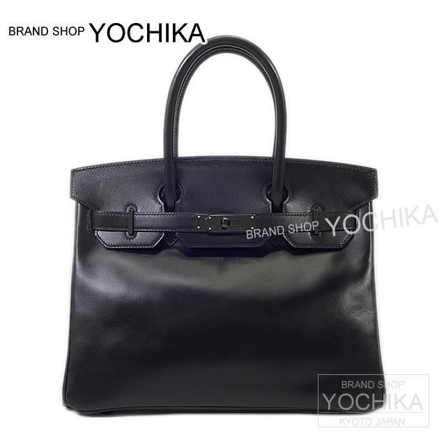 バーキン30 SOBLACK 黒(ブラック) ボックスカーフ