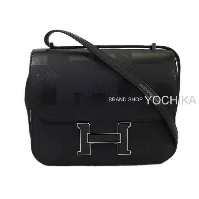 HERMES エルメス ショルダーバッグ コンスタンス3 ミニ 18 黒(ブラック) インプリメ ソンブレロ 新品
