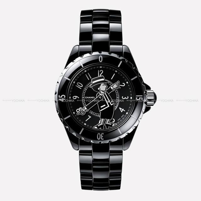 """2017年新作 CHANEL シャネル 世界555本限定 腕時計 """"マドモアゼル J12 38mm"""" 黒 H5241 新品未使用"""
