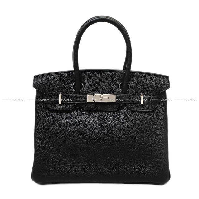 HERMES エルメス ハンドバッグ バーキン30 黒(ブラック) トゴ シルバー金具 新品未使用
