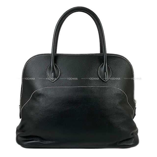 HERMES エルメス ハンドバッグ ボリードリラックス35 黒(ブラック) エプソンスープル シルバー金具 新品未使用