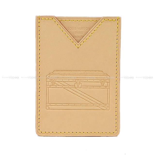 """2018年限定 LOUIS VUITTON カードケース """"ポルトカルト"""" トランク ナチュラル M62363 新品"""