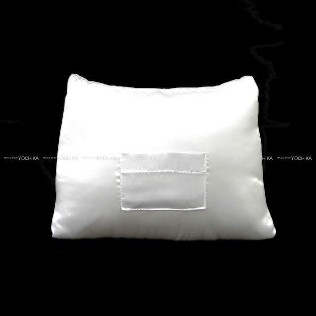 ハンドメイド バーキン25 専用 バッグ ピロー まくら クッション オフホワイト 新品