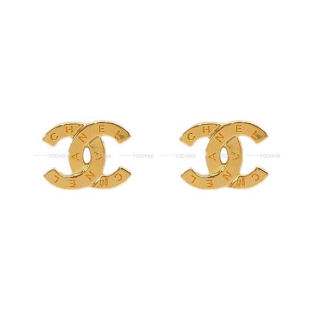 2020年 新作 CHANEL シャネル ココマーク ロゴ ピアス ゴールド ゴールド金具 AB4451 新品