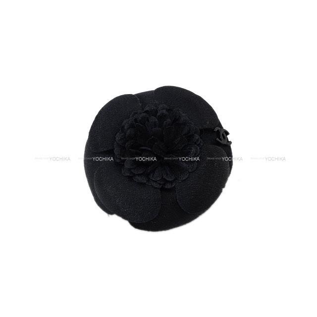 CHANEL シャネル ミニカメリア ココマーク コサージュ ブローチ 黒 ゴールド金具 16P 新品未使用
