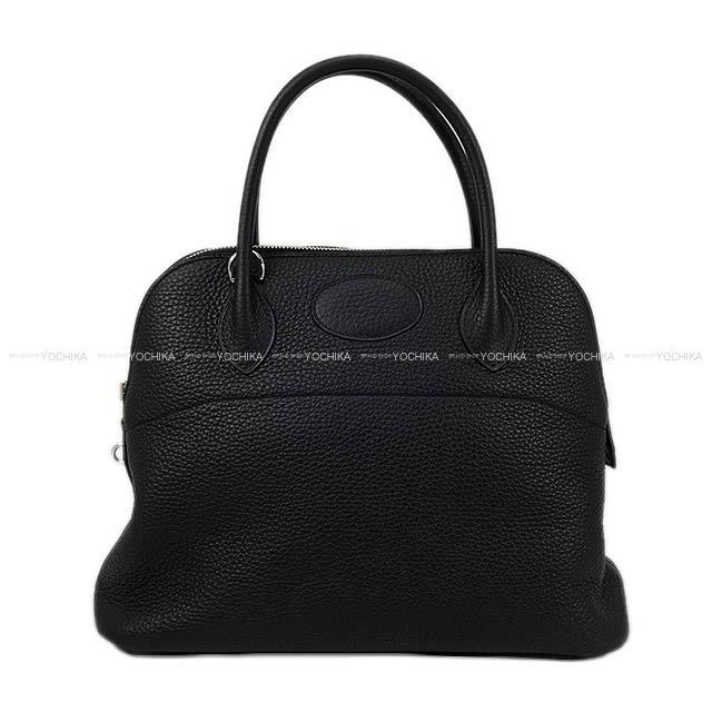 HERMES エルメス ハンドバッグ ボリード31 黒(ブラック) トリヨン シルバー金具 D刻印 新品