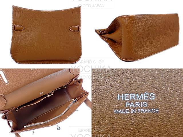 HERMES エルメス ジプシエール31 ゴールド トリヨン シルバー金具 新品