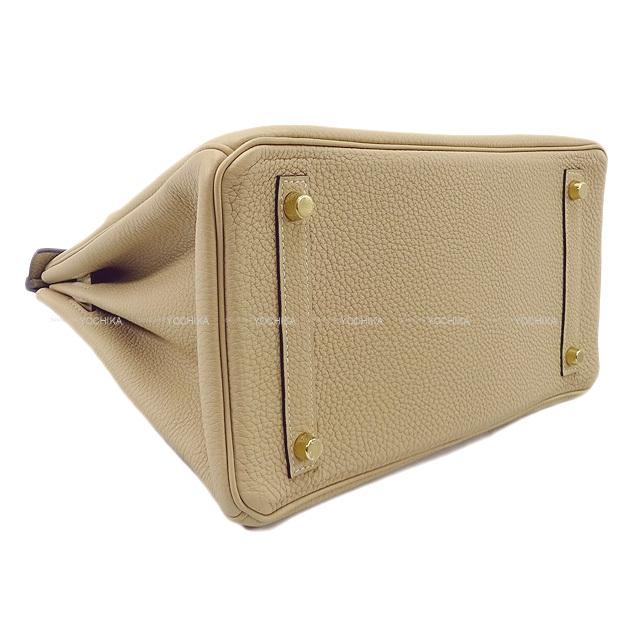 HERMES エルメス ハンドバッグ バーキン30 トレンチ トゴ ゴールド金具 新品