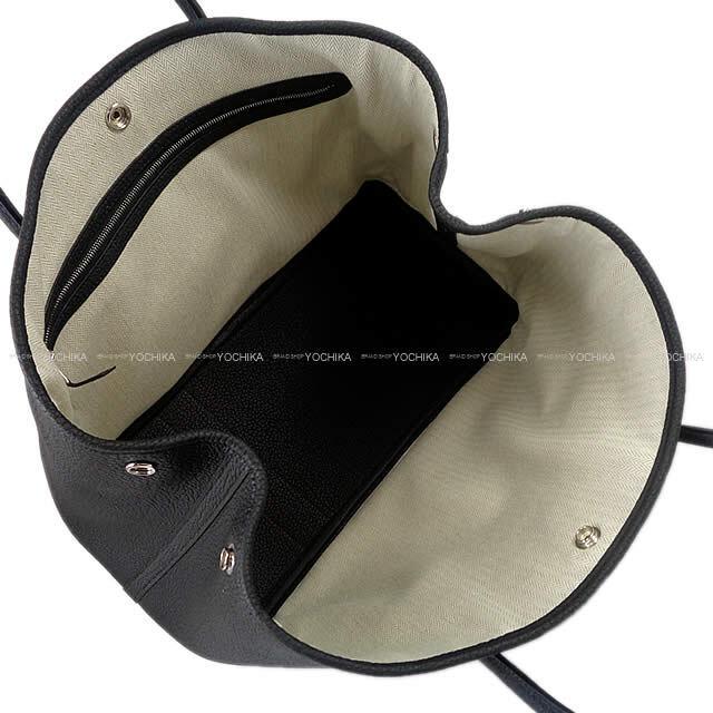 HERMES エルメス トートバッグ ガーデンパーティ 36 PM 黒 ブラック ヴァッシュカントリー シルバー金具 新品