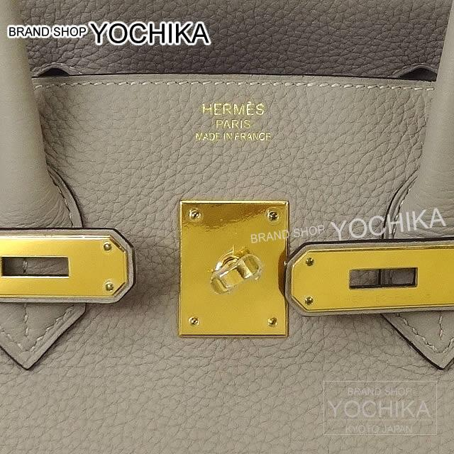 HERMES エルメス ハンドバッグ バーキン35 トゥルティールグレー トリヨン ゴールド金具 新品