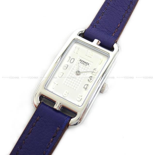 HERMES エルメス レディース 腕時計 NA2.210 ケープコッド ナンタケット TPM アイリス スイフト 新品同様