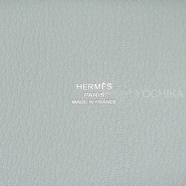 HERMES エルメス ショルダーバッグ ジプシエール 28 ブルーグラシエ トリヨン シルバー金具 新品未使用