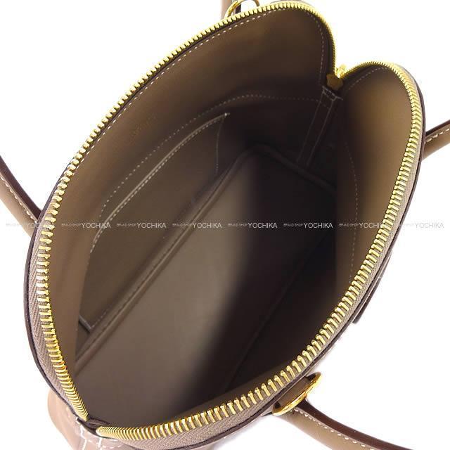 HERMES エルメス ショルダーバッグ ボリード27 エトープ(エトゥープ) スイフト ゴールド金具 新品