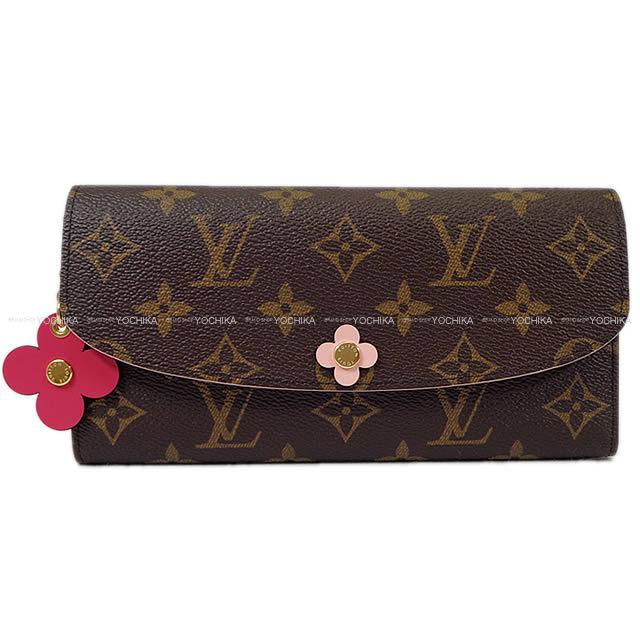 LOUIS VUITTON ルイ・ヴィトン 長財布 ポルトフォイユ・エミリー ピンク モノグラム M64202 新品