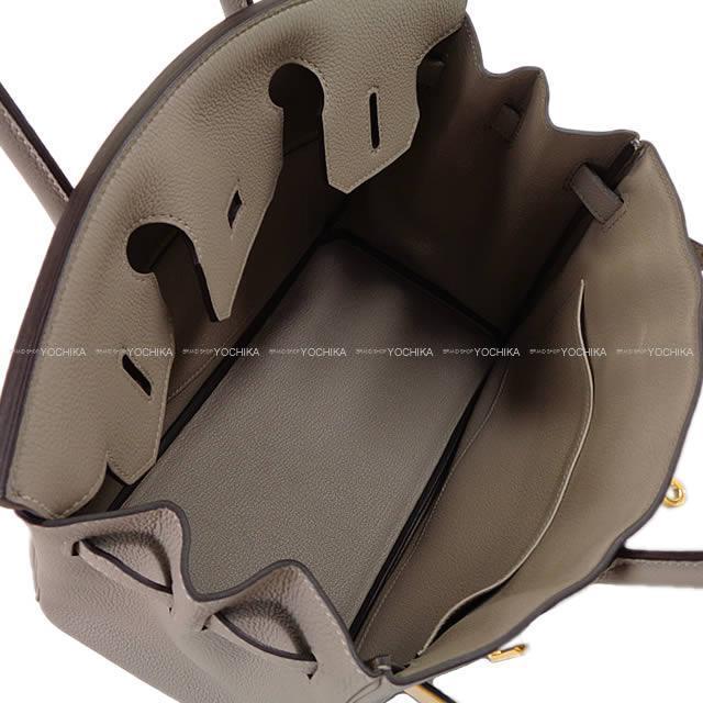 2017年秋冬新色 HERMES エルメス ハンドバッグ バーキン30 グリアスファルト トゴ ゴールド金具 新品