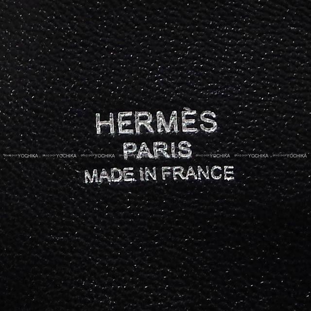 HERMES エルメス ハンドバッグ ボリード1923 30 黒(ブラック) トリヨンノヴィーヨ シルバー金具 新品