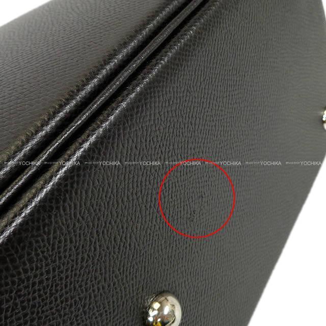 HERMES エルメス ハンドバッグ ボリード31 黒 トリヨン シルバー金具 新品同様【中古】