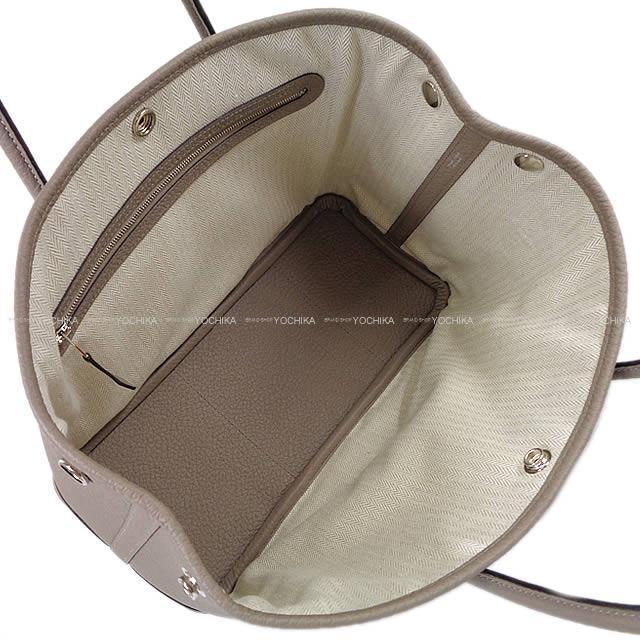 HERMES エルメス ハンドバッグ ガーデンパーティ 30 TPM グリアスファルト ヴァッシュカントリー 新品
