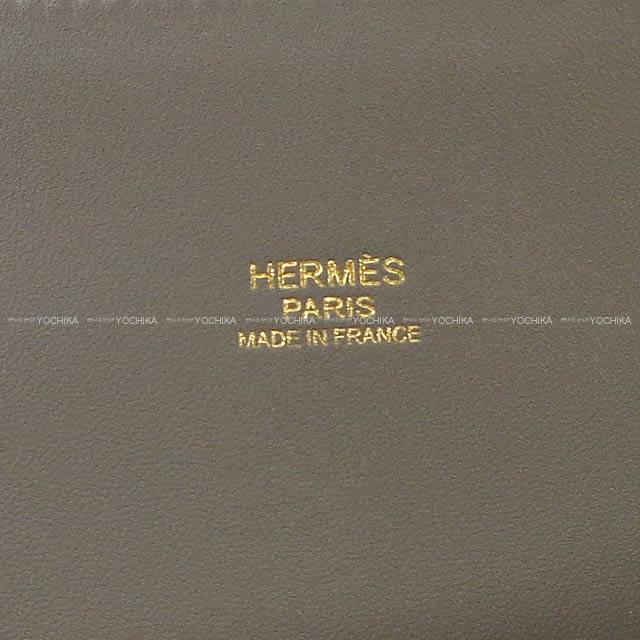 HERMES エルメス ショルダーバッグ ボリード27 エタン エプソン ゴールド金具 新品