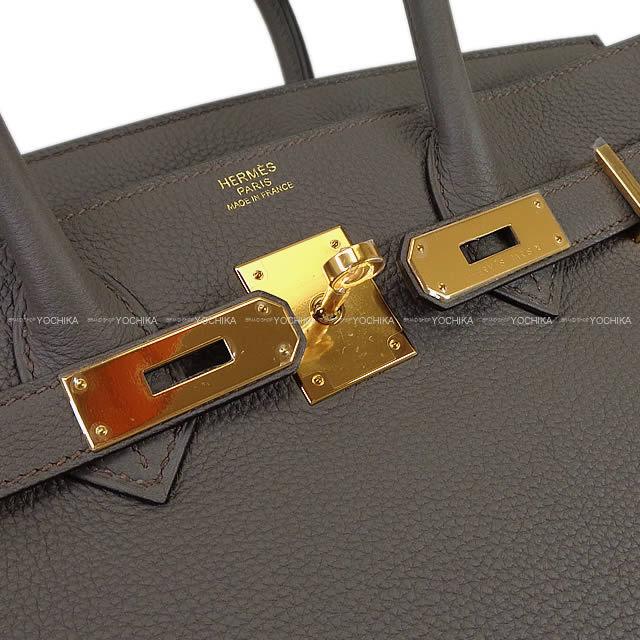 HERMES エルメス ハンドバッグ バーキン30 エタン トゴ ゴールド金具 新品