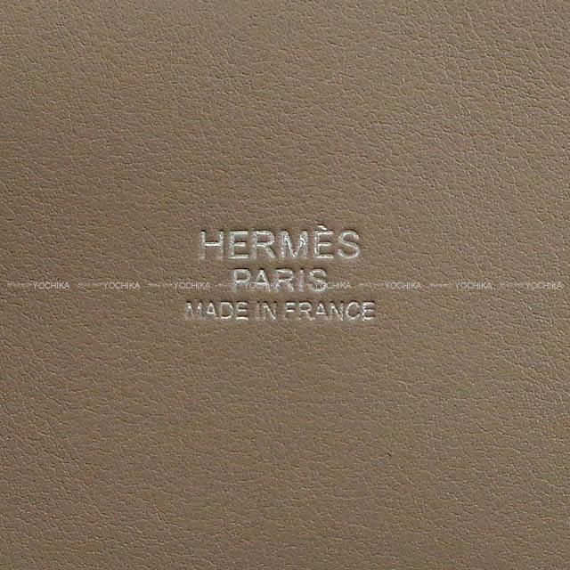 HERMES エルメス ショルダーバッグ ボリード27 グリアスファルト スイフト シルバー金具 新品
