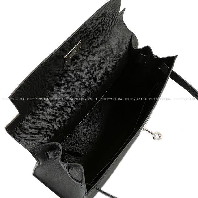 HERMES エルメス ハンドバッグ ケリー28 外縫い ブルーグラシエ エプソン ゴールド金具 新品