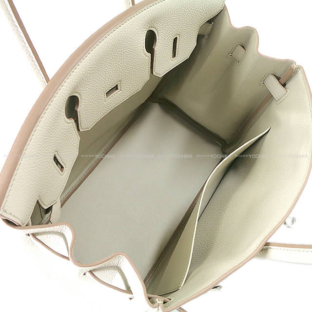 HERMES エルメス ハンドバッグ バーキン30 ベトン トゴ シルバー金具 新品