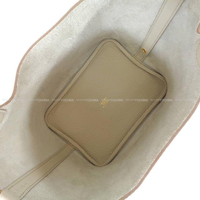 HERMES エルメス ハンドバッグ ピコタンロック 18 PM べトン トリヨン ゴールド金具 新品