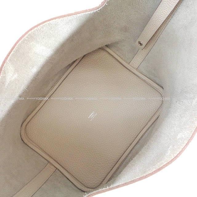 HERMES エルメス ハンドバッグ ピコタンロック 22 MM べトン トリヨン シルバー金具 新品