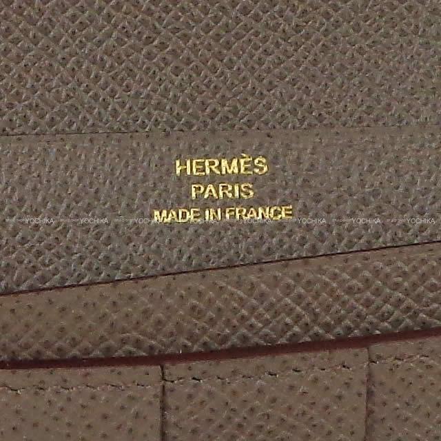 HERMES エルメス 長財布 ベアンスフレ エタン エプソン ゴールド金具 新品