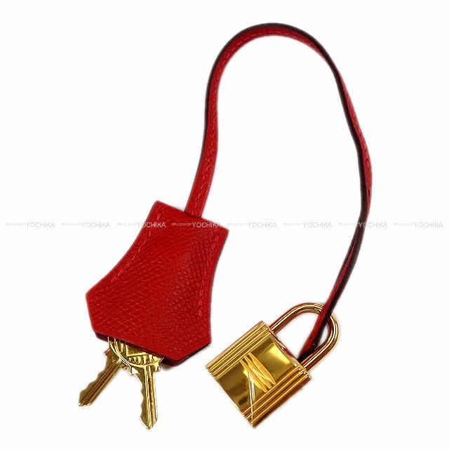 HERMES エルメス ハンドバッグ バーキン30 ルージュカザック エプソン ゴールド金具 新品