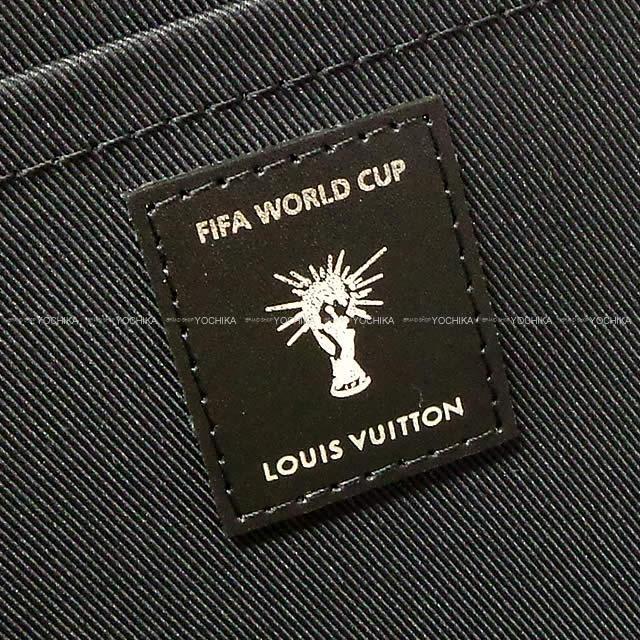 """2018 FIFA ワールドカップ 限定 LOUIS VUITTON ヴィトン クラッチ """"ポシェット ジュール GM"""" 新品"""