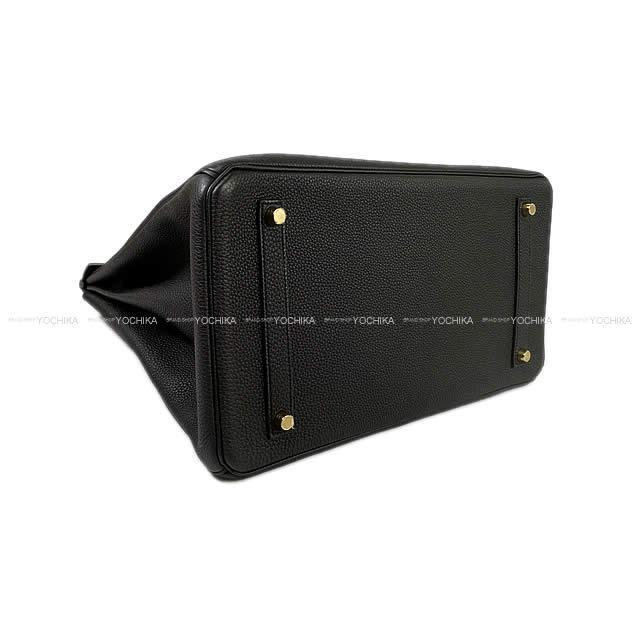 HERMES エルメス ハンドバッグ バーキン35 エトープ トリヨン シルバー金具 新品同様【中古】