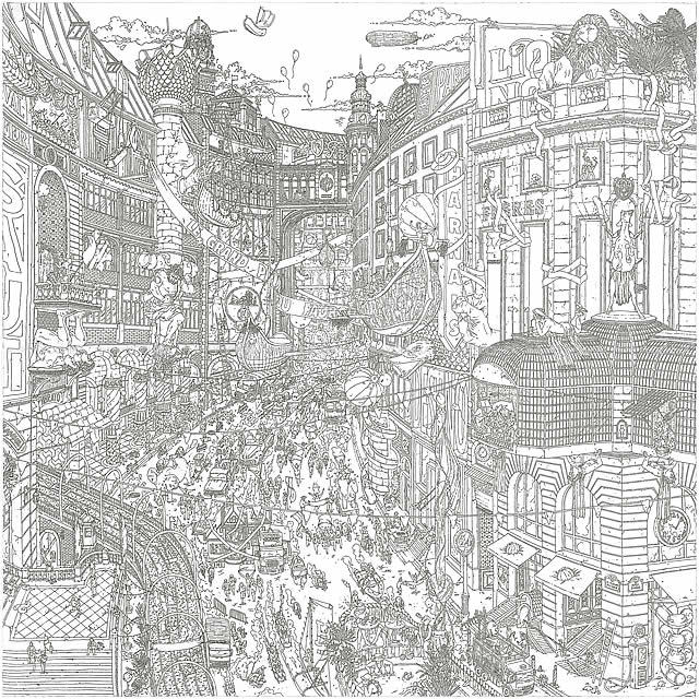 """HERMES エルメス スカーフ カレ90 """"フォーブルのグランプリ"""" 白(ホワイト)X黒(ブラック)Xグリス"""