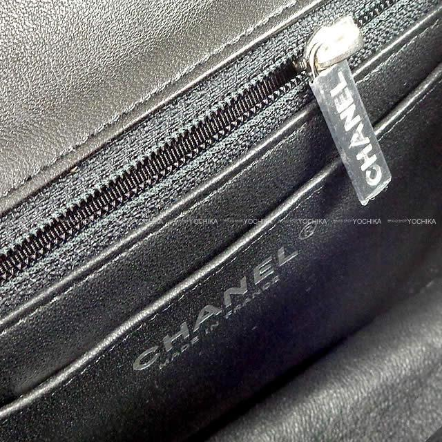 CHANEL シャネル マトラッセ ミニ チェーン ショルダーバッグ 黒 ラムスキン A35200 新品未使用