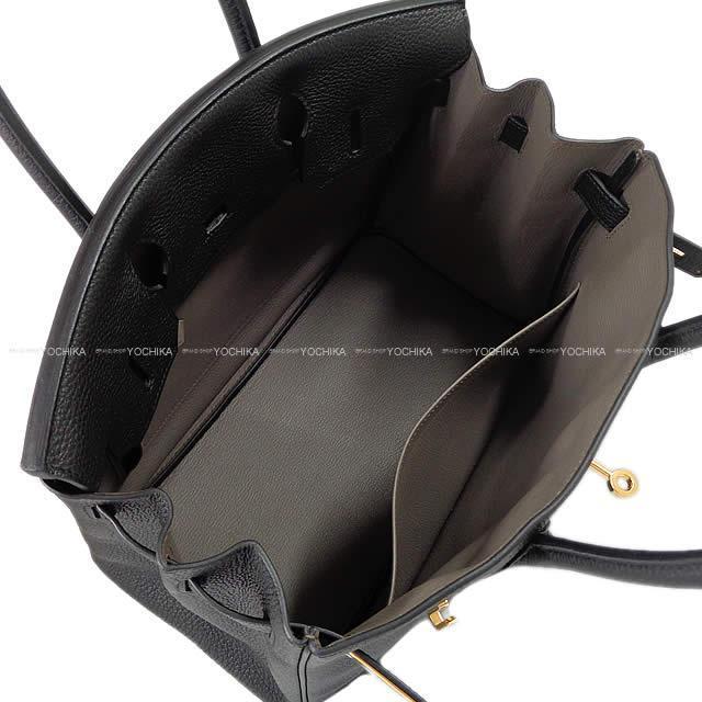 HERMES エルメス ハンドバッグ バーキン30 スペシャルオーダー 黒(ブラック)Xエタン トゴ ゴールド金具 新品