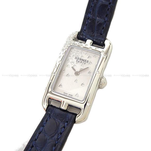 HERMES エルメス レディース 腕時計 NA2.131 ''ナンタケット TPM ミニジュテドゥディアマン'' 新品