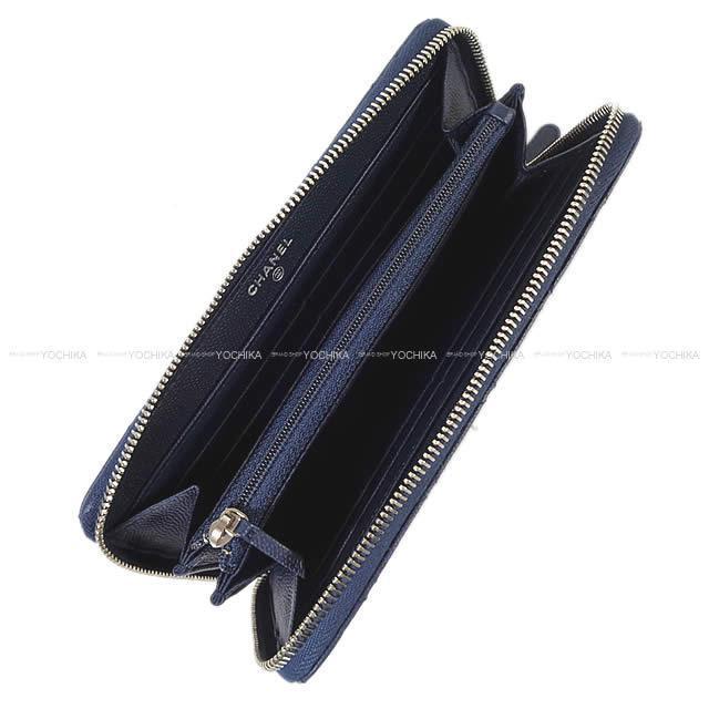 CHANEL シャネル ココマーク ラウンドファスナー 長財布 黒(ブラック) キャビアスキン A50071 新品